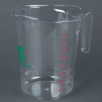 Choice 4 qt. Clear Polycarbonate Measuring Cup
