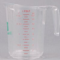 Choice 1 Pint Clear Polycarbonate Measuring Cup
