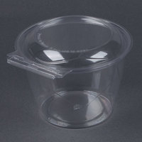 Par-Pak 5HGR048-TV Clear Tamper-Visible 48 oz. Round Container - 135 / Case