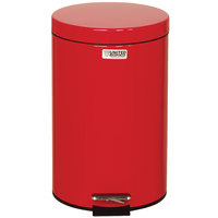 Rubbermaid FGMST35E Medi-Can™ Red Steel Step-On Medical Waste Receptacle with Plastic Liner 3.5 Gallon (FGMST35EPLRD)