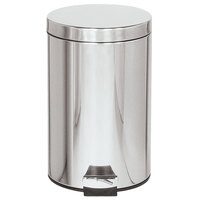 Rubbermaid FGMST35 Medi-Can™ Stainless Steel Step-On Medical Waste Receptacle with Plastic Liner 3.5 Gallon (FGMST35SSPL)