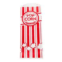 Carnival King 3 3/4 inch x 1 3/4 inch x 9 1/2 inch 1.1 oz. Popcorn Bag - 1000/Case