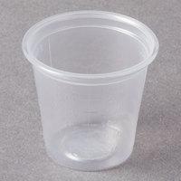 Dart Conex Complements 125PCG 1.25 oz. Translucent Plastic Graduated Medicine Cup - 125/Pack