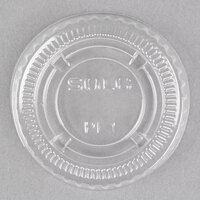 Dart Solo PL1N Small Clear Lid for Souffle / Portion Container   - 100/Pack