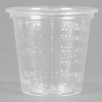 Dart Solo P101M 1 oz. Disposable Translucent Polystyrene Graduated Medicine Cup - 5000/Case