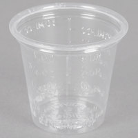 Dart Solo P101M 1 oz. Disposable Translucent Polystyrene Graduated Medicine Cup - 5000/Case