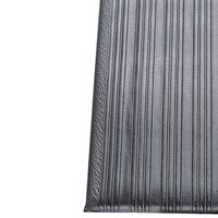 Ribbed Gray Tredlite Vinyl Anti-Fatigue Mat 72 inch Wide - 5/8 inch Thick