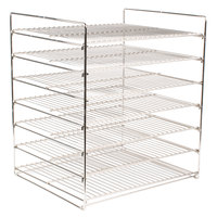 Hatco FSDT7SMP 7-Shelf Multi-Purpose Display Rack for FSDT Holding and Display Cabinets