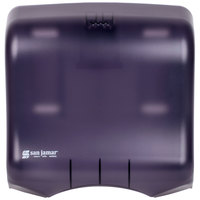 San Jamar T1750TBK Ultrafold C-Fold / Multi-Fold Towel Dispenser - Black Pearl