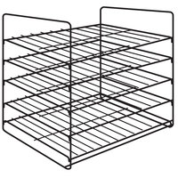 Hatco FSD5SMP 5-Shelf Multi-Purpose Display Rack for FSD Holding and Display Cabinets