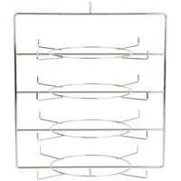 Hatco FDW4TCR 4 Tier Circle Pan Rack for Heated Merchandisers