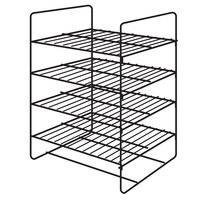 Hatco FDW4SMP 4 Shelf General Purpose Rack for Heated Merchandisers