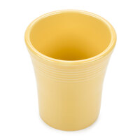 Tuxton BSM-1405 Concentrix 14 oz. Saffron China French Fry Caddy / Cup - 12 / Case