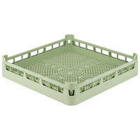 Vollrath 52671 Signature Full-Size Light Green Flatware Rack