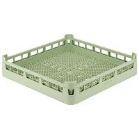 Vollrath 52671 Signature Full-Size Light Green Flatware Rack