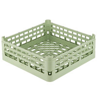 Vollrath 52682 Signature Full-Size Light Green 8 3/16 inch X-Tall Open Rack