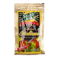 Salad Bar Golden Italian Dressing 1.5 oz. Portion Packet   - 60/Case