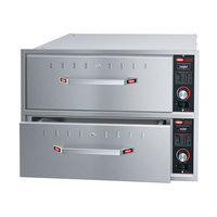 Hatco HDW-2BN Built-In Narrow Two Drawer Warmer - 120V, 900W