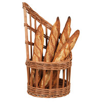 Matfer Bourgeat 573421 11 inch Round Wicker Bread Basket