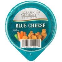 Classic Gourmet Blue Cheese Dressing 1.5 oz. Portion Cup - 96/Case