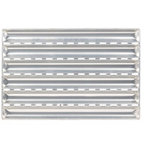 Matfer Bourgeat 311121 6 Loaf Aluminum French Baguette Bread Pan