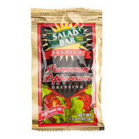 Salad Bar Parmesan Peppercorn Dressing 1.5 oz. Portion Packet - 60/Case