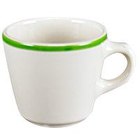 Homer Laughlin 1078083 Toulon 6.75 oz. Rolled Edge Virginia Cup - 36/Case
