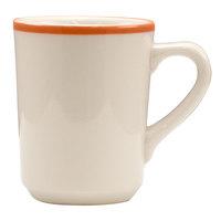 Homer Laughlin 1308083 Toulon 8.25 oz. Rolled Edge Denver Mug - 36/Case