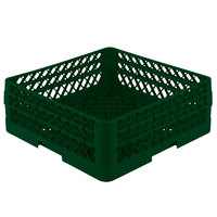 Vollrath TR1AA Traex Full-Size Green 7 1/4 inch Open Rack with 2 Extenders