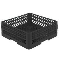 Vollrath TR1AA Traex® Full-Size Black 7 1/4 inch Open Rack with 2 Extenders