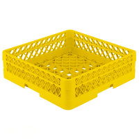 Vollrath TR1A Traex® Full-Size Yellow 5 1/2 inch Open Rack with 1 Extender