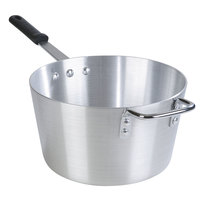 Carlisle 61708 8.5 Qt. Standard Weight Tapered Aluminum Sauce Pan with Dura-Kool Sleeve