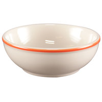Homer Laughlin 1958082 Martiques 14 oz. Rolled Edge Nappy Bowl - 36/Case