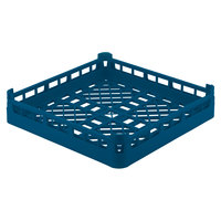 Vollrath 52670 Signature Full-Size Royal Blue 4 1/8 inch Short Open Rack