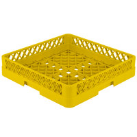 Vollrath TR1 Traex Full-Size Yellow 4 inch Open Rack
