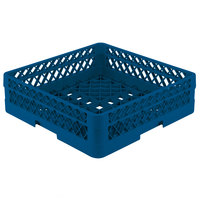 Vollrath TR1A Traex Full-Size Royal Blue 5 1/2 inch Open Rack with 1 Extender