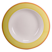 Homer Laughlin 3808082 Martiques 20 oz. Rolled Edge Pasta Bowl - 12/Case