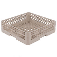 Vollrath TR1A Traex® Full-Size Beige 5 1/2 inch Open Rack with 1 Extender