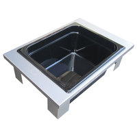 Steril-Sil E1-XHP-1VH Half Size Hotel Pan Insert for E1 System