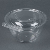 Par-Pak 5HGR032-TV Clear Tamper-Visible 32 oz. Round Container - 50 / Pack