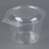 Par-Pak 5HGR048-TV Clear Tamper-Visible 48 oz. Round Container - 45 / Pack