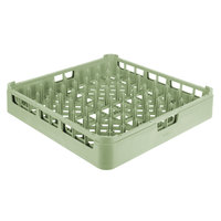 Vollrath 52672 Light Green Signature Full-Size Plate Rack