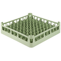Vollrath 52695 Light Green Signature Full-Size Extended Plate Rack