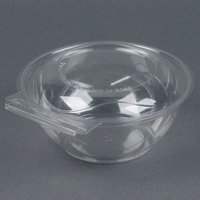 Par-Pak 5HGR024-TV Clear Tamper-Visible 24 oz. Round Container - 50 / Pack