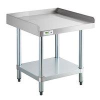 Regency 24 inch x 24 inch 16-Gauge Stainless Steel Equipment Stand with Galvanized Undershelf