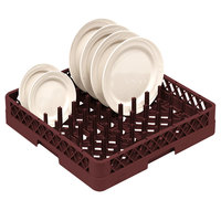 Vollrath TR3 Traex® Burgundy Full-Size Plate Rack