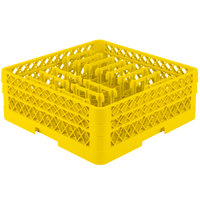 Vollrath TR3AAP14 Traex Yellow Extended Peg Rack for 12 1/4 inch Diameter Plates
