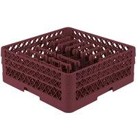 Vollrath TR3AAP14 Traex® Burgundy Extended Peg Rack for 12 1/4 inch Diameter Plates