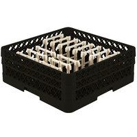 Vollrath TR3AAP14 Traex® Black Extended Peg Rack for 12 1/4 inch Diameter Plates