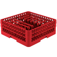 Vollrath TR3AAP14 Traex® Red Extended Peg Rack for 12 1/4 inch Diameter Plates
